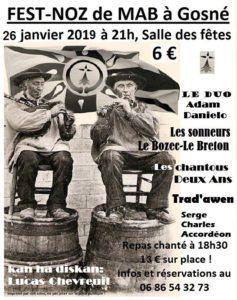 Affiche 2019 Fest Noz MAB