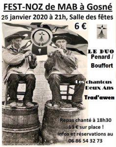 Affiche 2020 Fest Noz MAB
