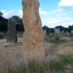 Menhirs sur la lande, Koad Sav Pell, 2