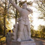 Sculpture Archer Anglais 2