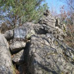 Vieux mémorial 1932 dans le bois d'Usel,2